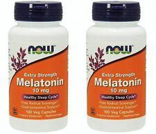 Now Foods Melatonin, 10mg, 100 vegicaps