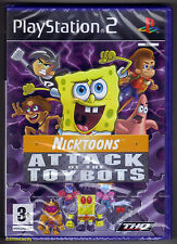PS2 Nicktoons: Attack of the Toybots (2007), UK Pal,  New & Sony Factory Sealed