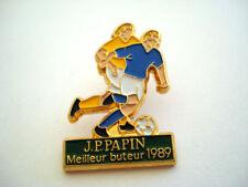 PINS FOOTBALL JEAN PIERRE PAPIN  MEILLEUR BUTEUR 1989 FOOT