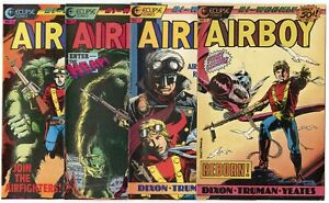Airboy #1 - 19  Complete Set  avg. NM- 9.2  Eclipse  1986  No Reserve