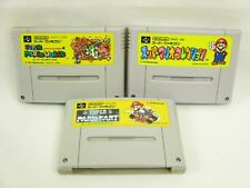 SUPER MARIO WORLD KART COLLECTION Set Super Famicom Game Cartridge Only sfc