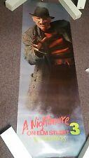 Nightmare on Elm Street Original Movie Poster Rolled 24X72 Door