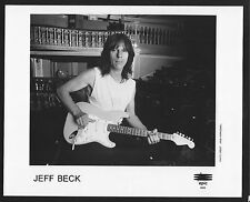 Vintage Original Ltd Edition Promo Photo 8x10 Jeff Beck b 1995