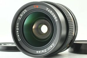 {ALMOST MINT} CONTAX Distagon 25mm f2.8 T MMJ MF Lens for C/Y Mount JAPAN 614u