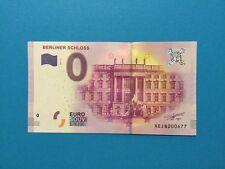 0 Euro Schein - Berliner Schloss 3. Motiv - original - druckfrisch