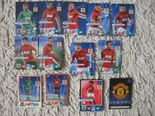 PANINI ADRENALYN XL CHAMPIONS LEAGUE 2013/14 manchester united COMPLETE   2014