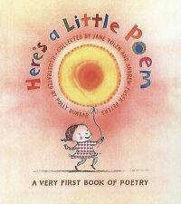 Very Good, Here's a Little Poem: A Very First Book of Poetry, , Book