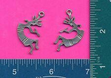 12 wholesale lead free pewter kokopelli pendants 4031