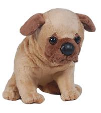 "Nic Nac 8"" Boys & Girls Plush Stuffed Animal Toy Brown Baby Bull Dog Puppy"