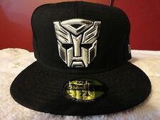Brand New era Transformers Autobot Dark of the Moon silver gray white black hat!