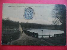 COYE  : Route d'Hérivaux à la Table - Les Étangs de la Reine Blanche...VO.1907.