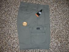 New Men's Cargo Shorts Lee Dungarees Grey 32