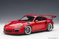 Autoart 78165 - 1/18 Porsche 911 (991) Gt3 Rs (2016) - Red - Neu