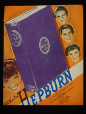 LITTLE WOMEN 1933 * KATHARINE HEPBURN * JOAN BENNETT * DIE-CUT HERALD * RARE!!