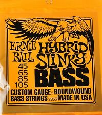 Ernie Ball Hybrid Slinky Bass Guitar Strings 45-105 set 2833