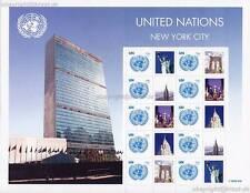 UNO NEW YORK - 2008 GRUSSMARKEN BOGEN 94 c # 1096 - S 24
