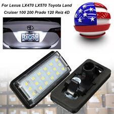 Canbus Led License Plate Light Bulb Lamp For Toyota Lexus Lx470 Toyota Cruiser