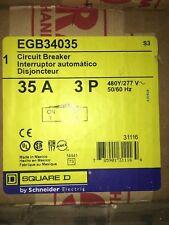 SQUARE D EGB34035 35A 3 Pole Breaker