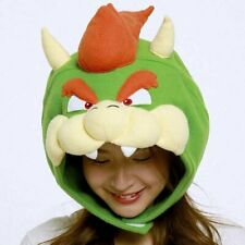 SAZAC Super Mario Brothers Bowser King Koopa Cap Costume Unisex Adult F/S New
