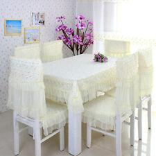 Elegant European Style Lace TableCloth -2 colour Plum Flowers-gift/house warming