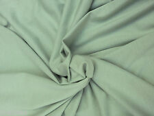 ORGANIC Cotton Fabric Jersey Knit Eco-Friendly By The Yard - SAGE Wholesale