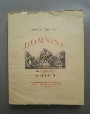 Domine par Paul Arene lithographies de Pierre Girieud éd. Seheur 1927