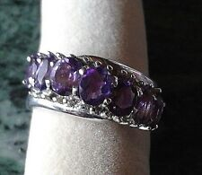 HSE Harry Ivens Damen Ring Silber 925 Amethyst Gr. 18 neuwertig