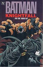 Batman: Knightfall Volumes 1, 2 & 3 Tpbs Dc Comics Oop Trade Dress 1993