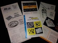 Johanson Capacitors Brochures Variable Monolithic Dielectrics Ceramic Chip