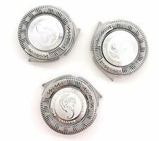 HQ8 Compatible Replacement Heads Silver Dragon Edition 3-pack