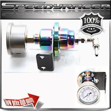 Type-S Rainbow Adjustable Fuel Pressure Regulator with FREE oil Gauge