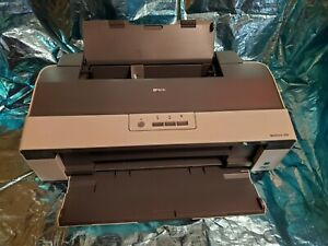Epson WorkForce 1100 Workgroup Inkjet Printer w/ cables. Barely used!
