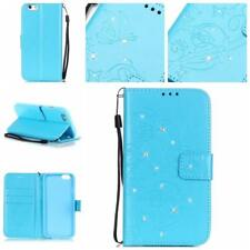 New Genuine Real Leather Card Holder Flip Wallet Case Cover For Apple Cell Phone