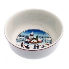 Villeroy Boch Naif Christmas Cereal Bowls Set of 6 New