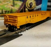 Athearn 50' Rio Grande Gondola HO scale train car for set nos metal wheels