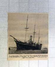 1902 The Missing Ship, Condor, Crew Of 110 Officers And Men