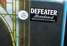 "DEFEATER : Abandoned COKE BOTTLE CLEAR Color Vinyl 12"" LP Gatefold NEW Sealed"