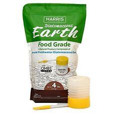 Harris Diatomaceous Earth Food Grade, 4lb w/ Free Powder Duster