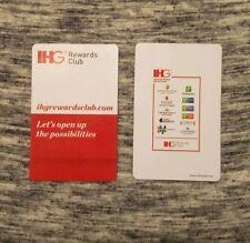 IHG Hotel Room Key Card, Holiday Inn IHG Rewards Card