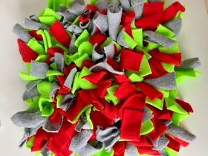Large Snuffle Mat Dog Puppy Various colours. Sniffing mat. Handmade in UK