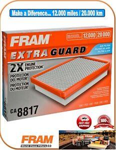 FRAM CA8817 Air Filter-ExtraGuard Fit Grand Cherokke V6 3.0 3.7 V8 4.7 5.7 6.1