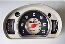 Dashboard Gauge instrument FIAT 600 VEGLIA BORLETTI benzina acqua contachilometr
