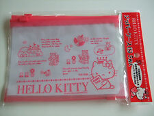 Sanrio Hello Kitty Kawaii Zipper Bag Case 5pcs