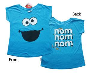 Cookie Monster, Nom - Femmes T-Shirts Avec avant & Dos Imprimé