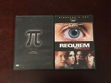 *Pi & Requiem For A Dream Dvd Lot*