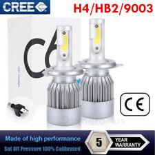 CREE H4 HB2 9003 LED Headlight 200W 159000LM  Hi/Lo Beam Bulbs 6000K White