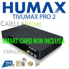 DECODER SATELLITARE DVB-S S2 TIVUSAT HUMAX 6800S-HD TIVUMAX PRO 2 - NO TESSERA
