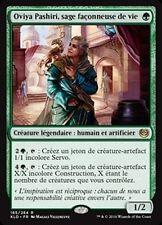 MTG Magic KLD - Oviya Pashiri, Sage Lifecrafter/sage façonneuse de vie French/VF