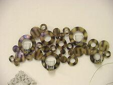 Deko-Wandkerzenhalter aus Metall für Teelichter