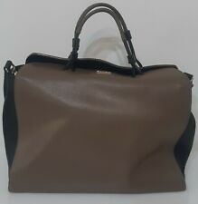 FURLA Leather Bag Handbag Shoulderbag Large